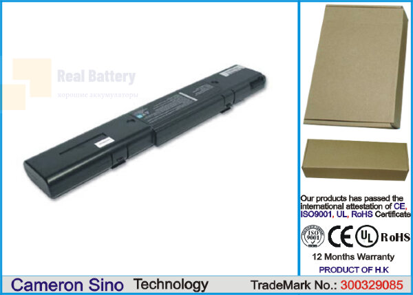 Аккумулятор CS-AUL5NB для Asus L5  14,8V 4400mAh Li-ion