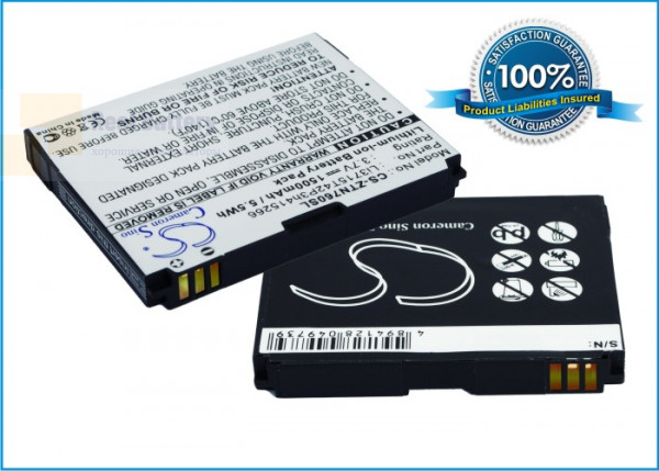 Аккумулятор CS-ZTN760SL для Sprint Fury 3,7V 1500Ah Li-ion