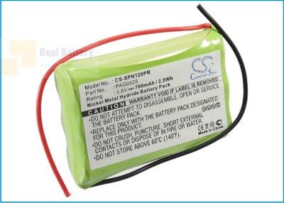 Аккумулятор CS-SPN120PR для Signologies 1200 3,6V 700Ah Ni-MH