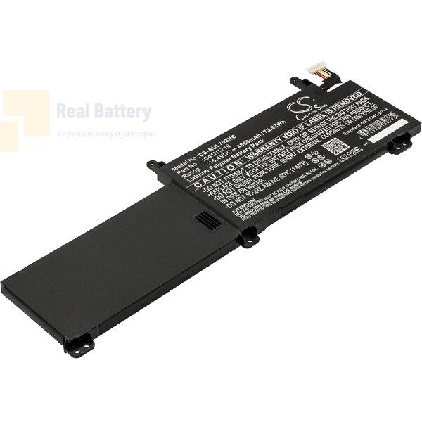 Аккумулятор CS-AUL703NB для Asus GL703GM  15,4V 4800mAh Li-Polymer