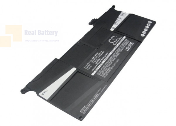 "Аккумулятор CS-AM1495NB для Apple MacBook Air ""Core i5"" 1.3 11""   7,6V 5100mAh Li-Polymer"