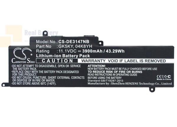 Аккумулятор CS-DE3147NB для DELL Inspiron 11 3147  11,1V 3900mAh Li-Polymer