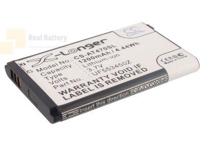 Аккумулятор CS-AT470SL для Airis T470 3,7V 1200Ah Li-ion