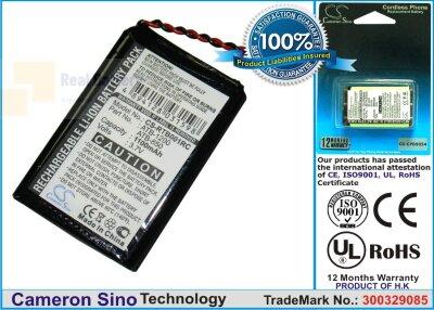 Аккумулятор CS-RTB001RC для RTI T2B 3,7V 1100Ah Li-ion