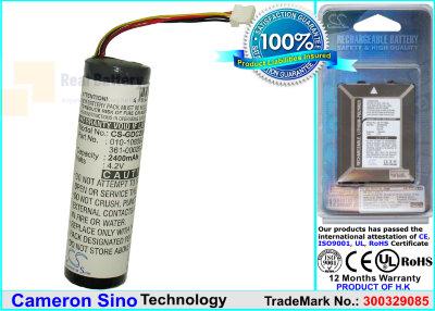 Аккумулятор CS-GDC20SL для Garmin Astro System DC20 3,7V 2200Ah Li-ion