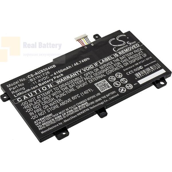 Аккумулятор CS-AUX504NB для Asus FX504  11,4V 4100mAh Li-ion