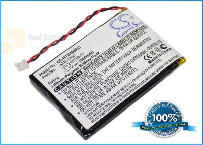 Аккумулятор CS-RTB003RC для RTI T3V 3,7V 1800Ah Li-ion