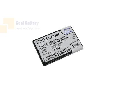 Аккумулятор CS-MXR100MB для MOBI DXR 3,7V 1700Ah Li-ion