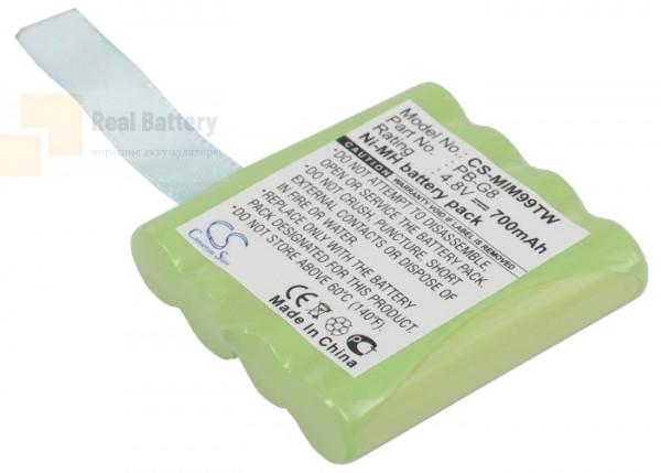 Аккумулятор CS-MIM99TW для Alan 441 4,8V 700Ah Ni-MH