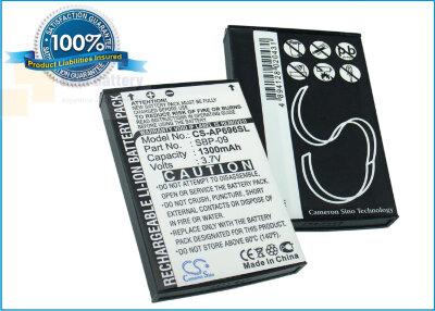 Аккумулятор CS-AP696SL для Asus Mypal A626 3,7V 1300Ah Li-ion