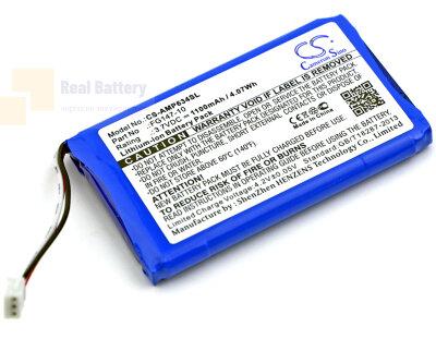 Аккумулятор CS-AMP634SL для AMX Mio Modero remote controls 3,7V 1100Ah Li-ion