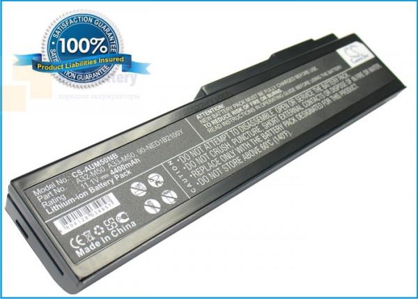 Аккумулятор CS-AUM50NB для Asus G50  11,1V 4400mAh Li-ion