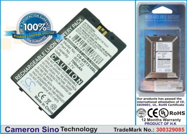 Аккумулятор CS-ERT310SL для Sony Ericsson T300 3,7V 700Ah Li-ion