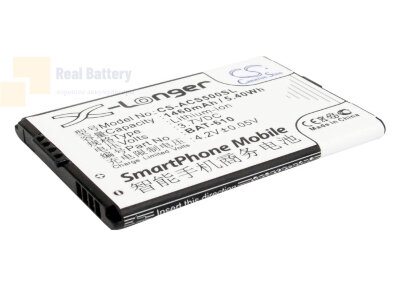 Аккумулятор CS-ACS500SL для Acer Cloud Mobile 3,7V 1460Ah Li-ion