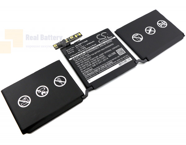 Аккумулятор CS-AM1713NB для Apple MacBook Pro 13.3  11,1V 4700mAh Li-Polymer
