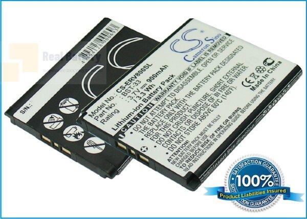 Аккумулятор CS-ERV800SL для Sony Ericsson C702 3,7V 900Ah Li-ion
