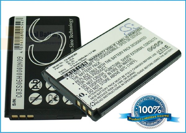Аккумулятор CS-NK5CMX для Tecno HD61 Album 3,7V 1000Ah Li-ion