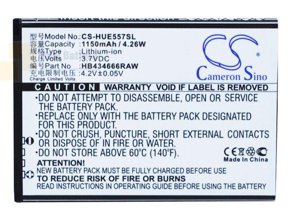 Аккумулятор CS-HUE557SL для Huawei E5573 3,7V 1150Ah Li-ion