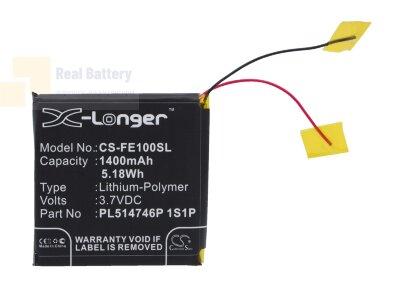 Аккумулятор CS-FE100SL для Fiio E10 3,7V 1400Ah Li-Polymer