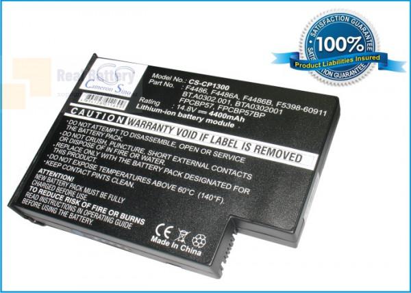 Аккумулятор CS-CP1300 для CYBERCOM CC5396  14,8V 4400mAh Li-ion