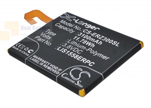 Аккумулятор CS-ERZ300SL для Sony Ericsson D6616 3,8V 3100Ah Li-Polymer