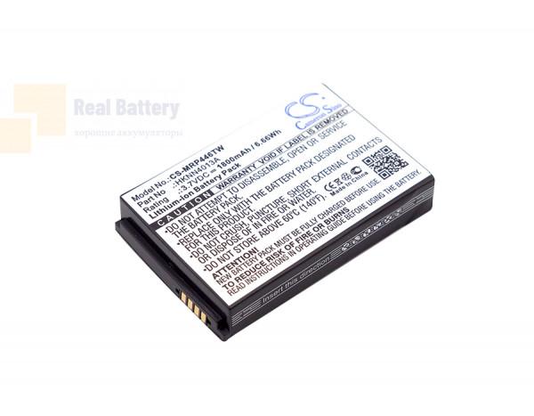 Аккумулятор CS-MRP446TW для Motorola CLP1010 3,7V 1800Ah Li-ion