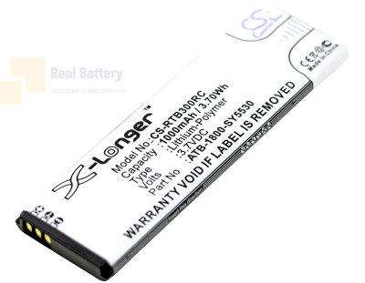 Аккумулятор CS-RTB300RC для RTI T2i 3,7V 1000Ah Li-Polymer