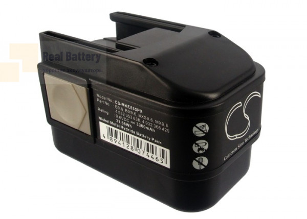 Аккумулятор для AEG 2000 9,6V 3,3Ah Ni-MH CS-MKE535PX