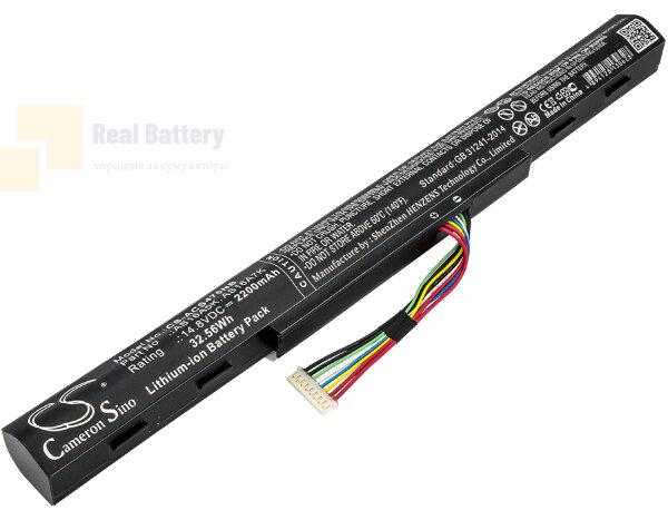 Аккумулятор CS-ACS475NB для Acer Aspire E5-475G  14,8V 2200mAh Li-ion