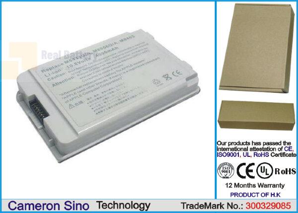 Аккумулятор CS-AM8403HB для Apple iBook G3 12 M7692J 10,8V 4400mAh Li-ion