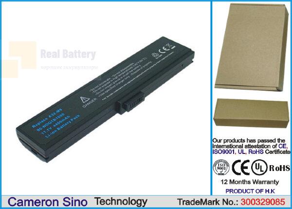 Аккумулятор CS-AUM9NB для Asus M9  11,1V 4400mAh Li-ion