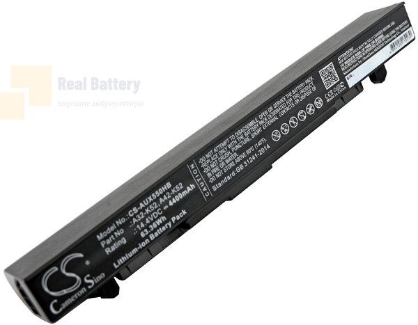 Аккумулятор CS-AUX550HB для Asus A450  14,4V 4400mAh Li-ion