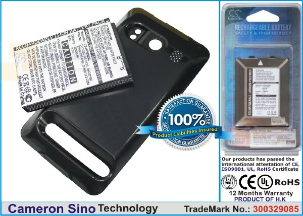 Аккумулятор CS-HT9292XL для Sprint A9292 3,7V 2200Ah Li-ion