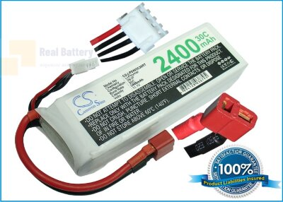 Аккумулятор CS-LP2403C30RT для RC CS-LP2403C30RT 11,1V 2400Ah Li-Polymer