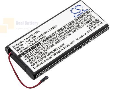 Аккумулятор CS-NTS015XL для Nintendo HAC-015 3,7V 520Ah Li-ion