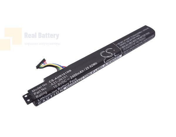 Аккумулятор CS-AUN101NB для Asus JN101 10,8V 2400mAh Li-ion