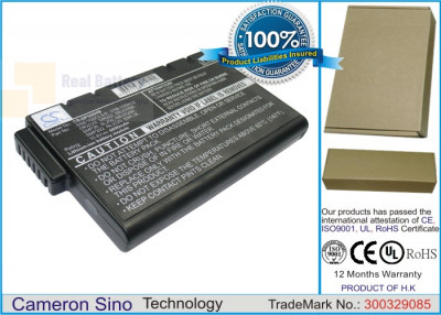 Аккумулятор CS-SP500HB для Wedge Tech PowerBook 5 CD 10,8V 6600mAh Li-ion