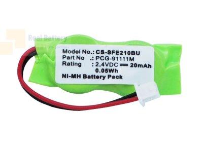 Аккумулятор CS-SFE210BU для Sony VAIO PCG-7134M 2,4V 20Ah Ni-MH