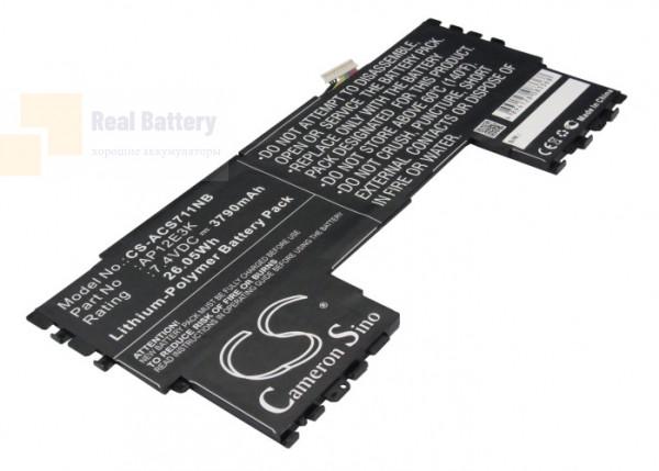 "Аккумулятор CS-ACS711NB для Acer Aspire Aspire S7 11""  7,4V 3790mAh Li-Polymer"