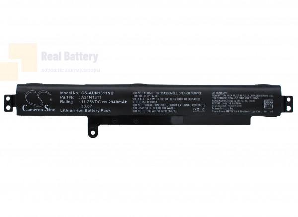 Аккумулятор CS-AUN1311NB для Asus F102BA-DF047H  11,25V 2940mAh Li-ion