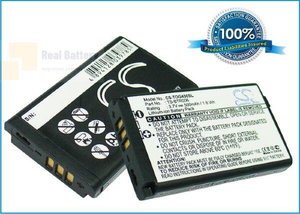 Аккумулятор CS-TOG450SL для Toshiba G450 3,7V 500Ah Li-ion