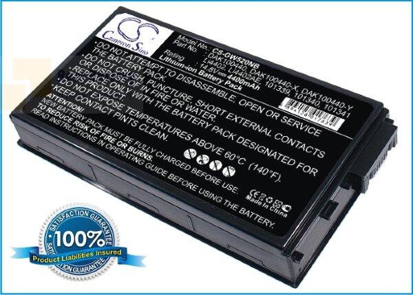 Аккумулятор CS-GW520NB для Arima W730A 14,8V 4400mAh Li-ion