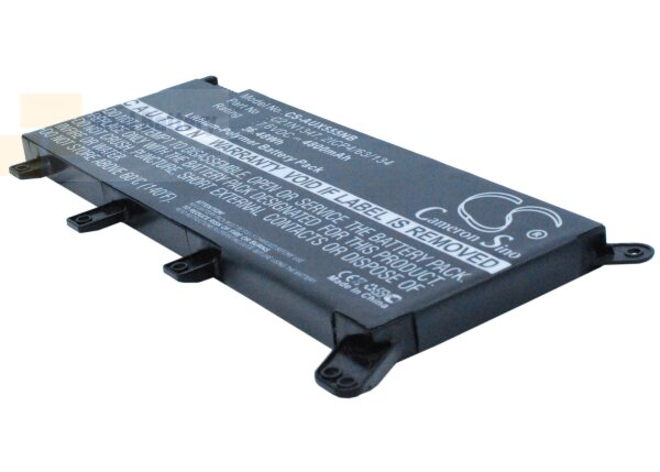 Аккумулятор CS-AUX555NB для Asus A555  7,6V 4800mAh Li-Polymer