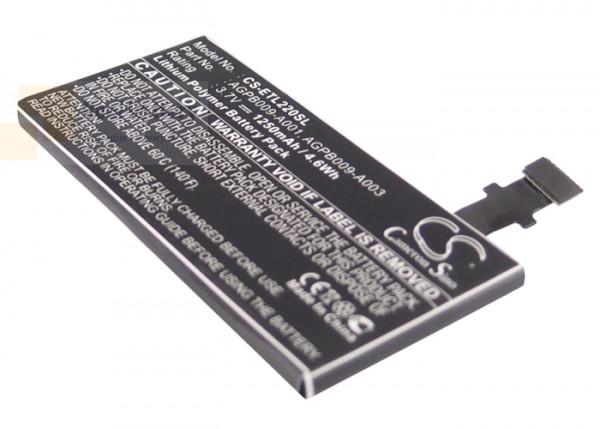 Аккумулятор CS-ETL220SL для Sony Ericsson LT22 3,7V 1250Ah Li-ion