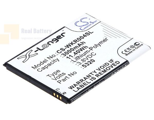 Аккумулятор CS-WKR004SL для Wiko RIDGE FAB 3,8V 3000Ah Li-Polymer