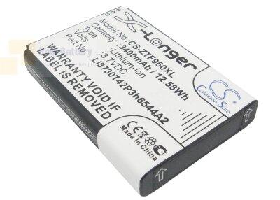 Аккумулятор CS-ZTF960XL для ZTE MF286 3,7V 3400Ah Li-ion
