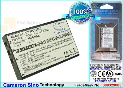 Аккумулятор CS-MC100BL для Wasp WDT3200 3,7V 1800Ah Li-ion