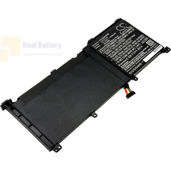 Аккумулятор CS-AUN501NB для Asus G501  15,2V 3700mAh Li-Polymer