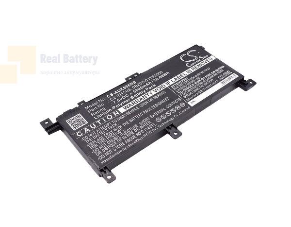 Аккумулятор CS-AUX556NB для Asus X556UA  7,6V 5000mAh Li-Polymer