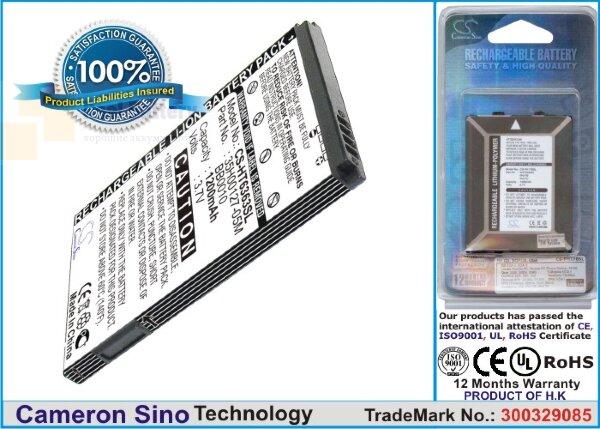 Аккумулятор CS-HT6363SL для T-Mobile myTouch 3G Slide 3,7V 1200Ah Li-ion